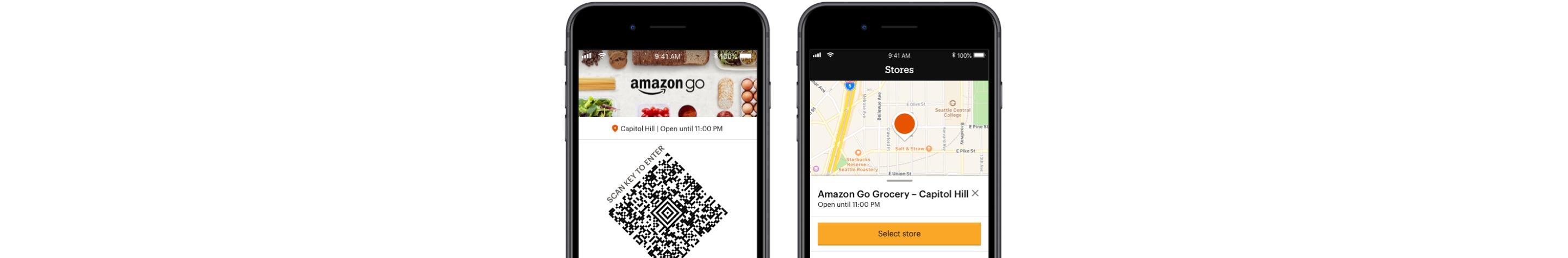 Amazon Go App images