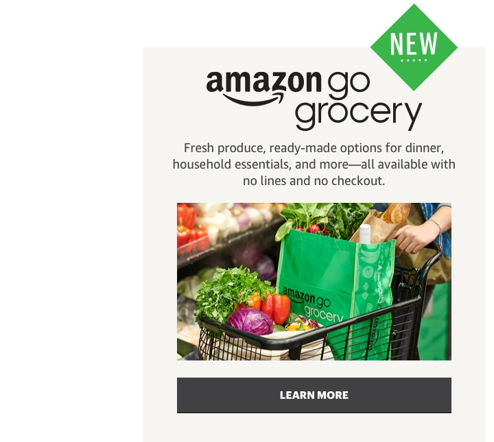 New Amazon Go Grocery