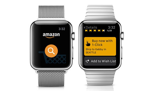 shop amazon with the turn of your wrist