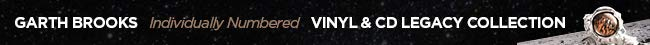 Garth Brooks Individually Numbered Vinyl & CD Legacy Collection