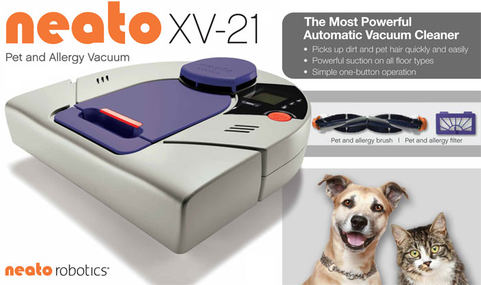 Neato XV-21 Pet & Allergy Automatic Vacuum Cleaner