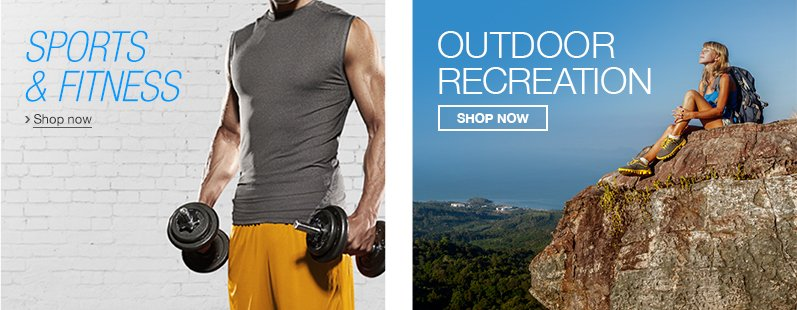 Shop Sports and Outdoors on Amazon.com