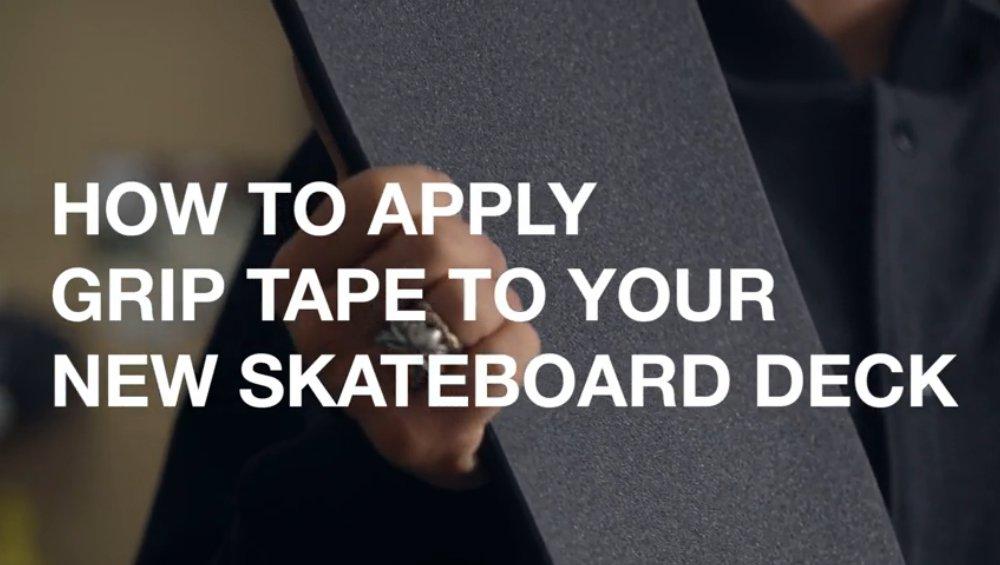 Skateboard Grip Tape Video