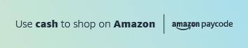 Use cash to shop on Amazon