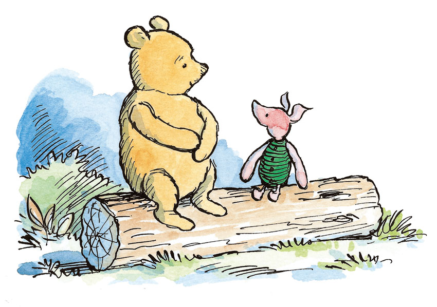 return to the hundred acre wood winnie the pooh david benedictus