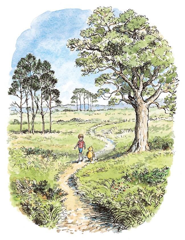 Image result for hundred acre woods