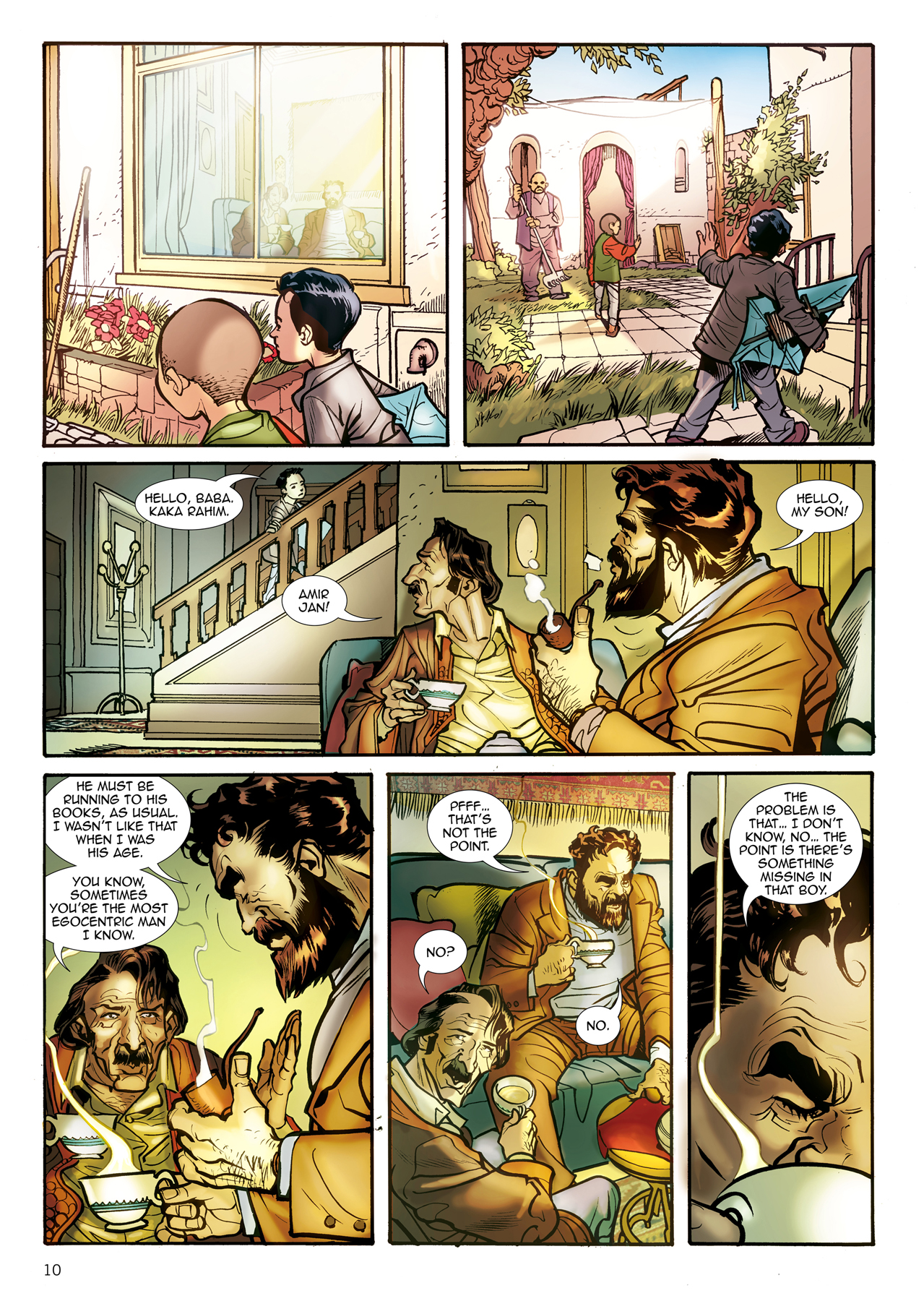 the kite runner graphic novel khaled hosseini 9781594485473 a look inside the kite runner graphic novel click on images to enlarge
