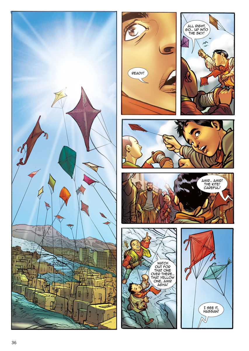 the kite runner graphic novel khaled hosseini 9781594485473 editorial reviews