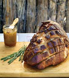 Maple Bourbon Ham