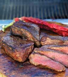 Smoked Buffalor Steak