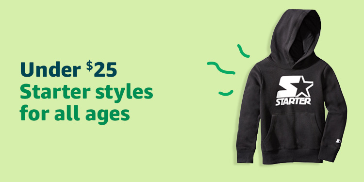 Under $25: Starter styles for all ages