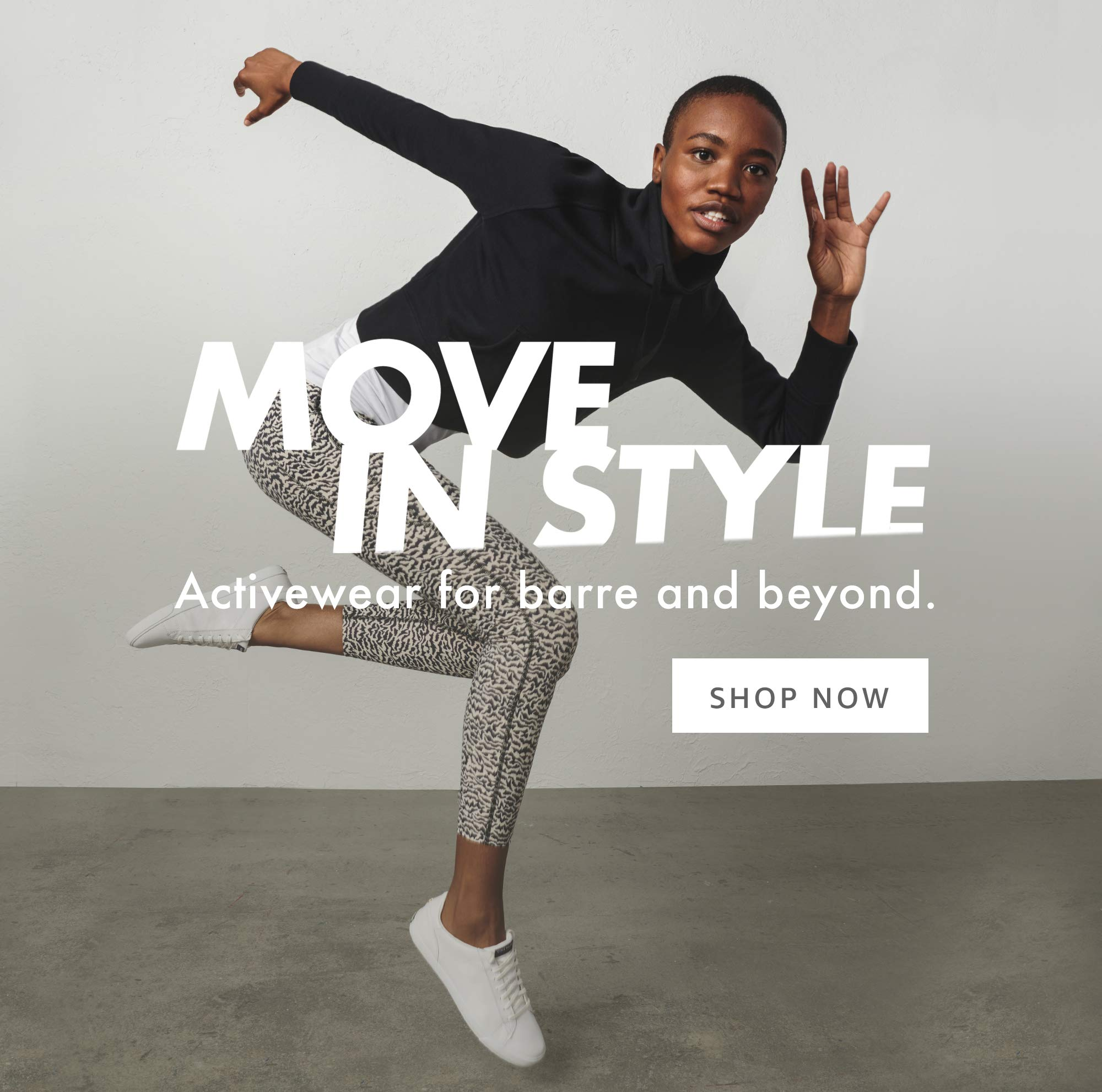 Move In Style Activewear for barre and beyond
