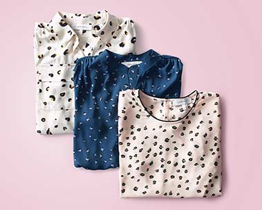 Go wild with trendy prints
