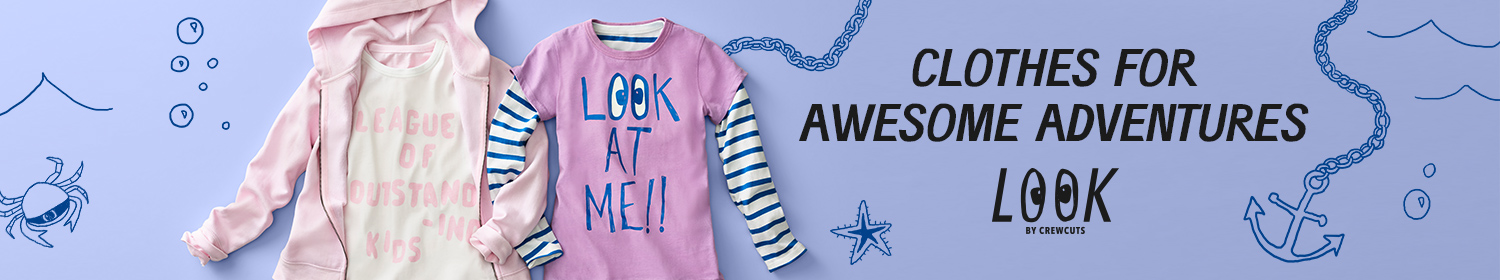 LOOK by crewcuts girls clothing at great prices