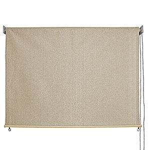 Keystone Fabrics 6215 Baja Exterior Roll Up Solar Shade Monterey 8 Feet By 6 Feet