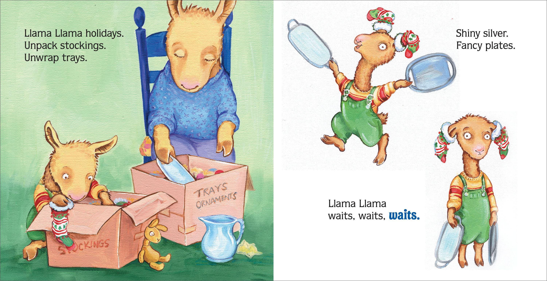 Llama Llama Holiday Drama: Anna Dewdney: 9780670011612