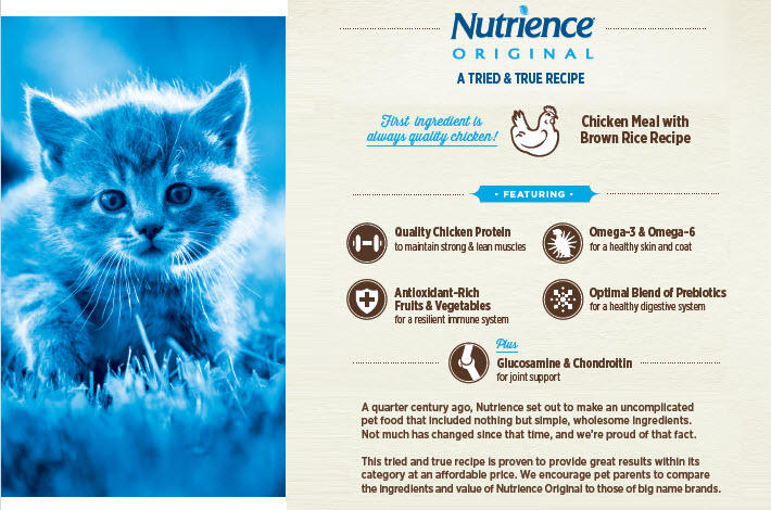 Amazon nutrience original healthy adult cat food 18 pounds nutrience original cat forumfinder Gallery