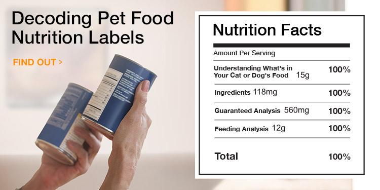 Decoding Pet Food Nutrition Labels