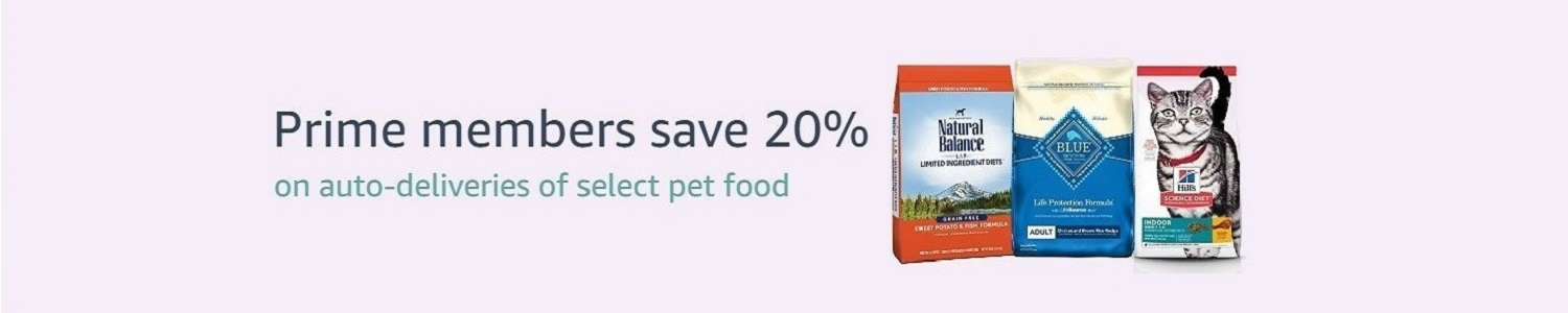 Pets Prime Subscribe and Save
