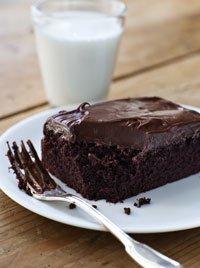 Chocolate Ckae wiht Mocha Frosting