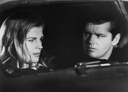 Candice Bergen and Jack in a scene from Carnal Knowledge