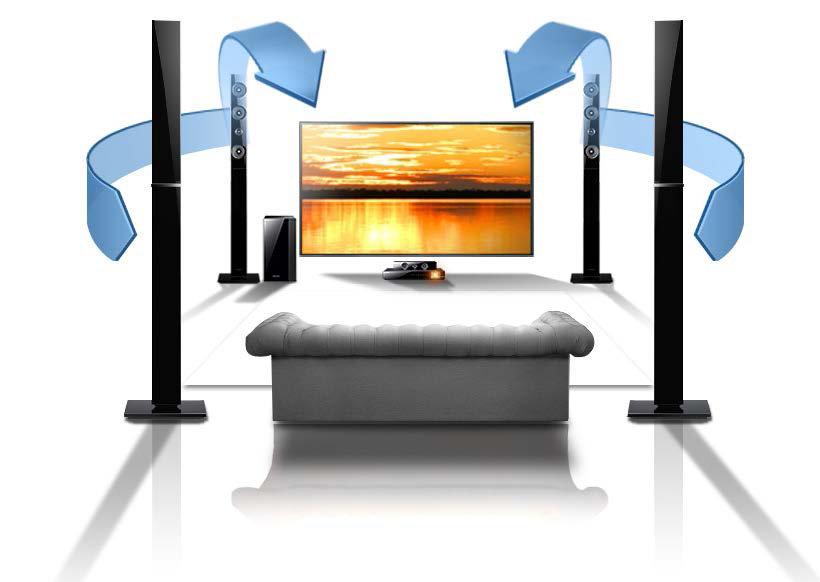 Amazon.com: Samsung HT-E6730W 7.1 Channel 1330-Watt 3D Blu-Ray Home ...