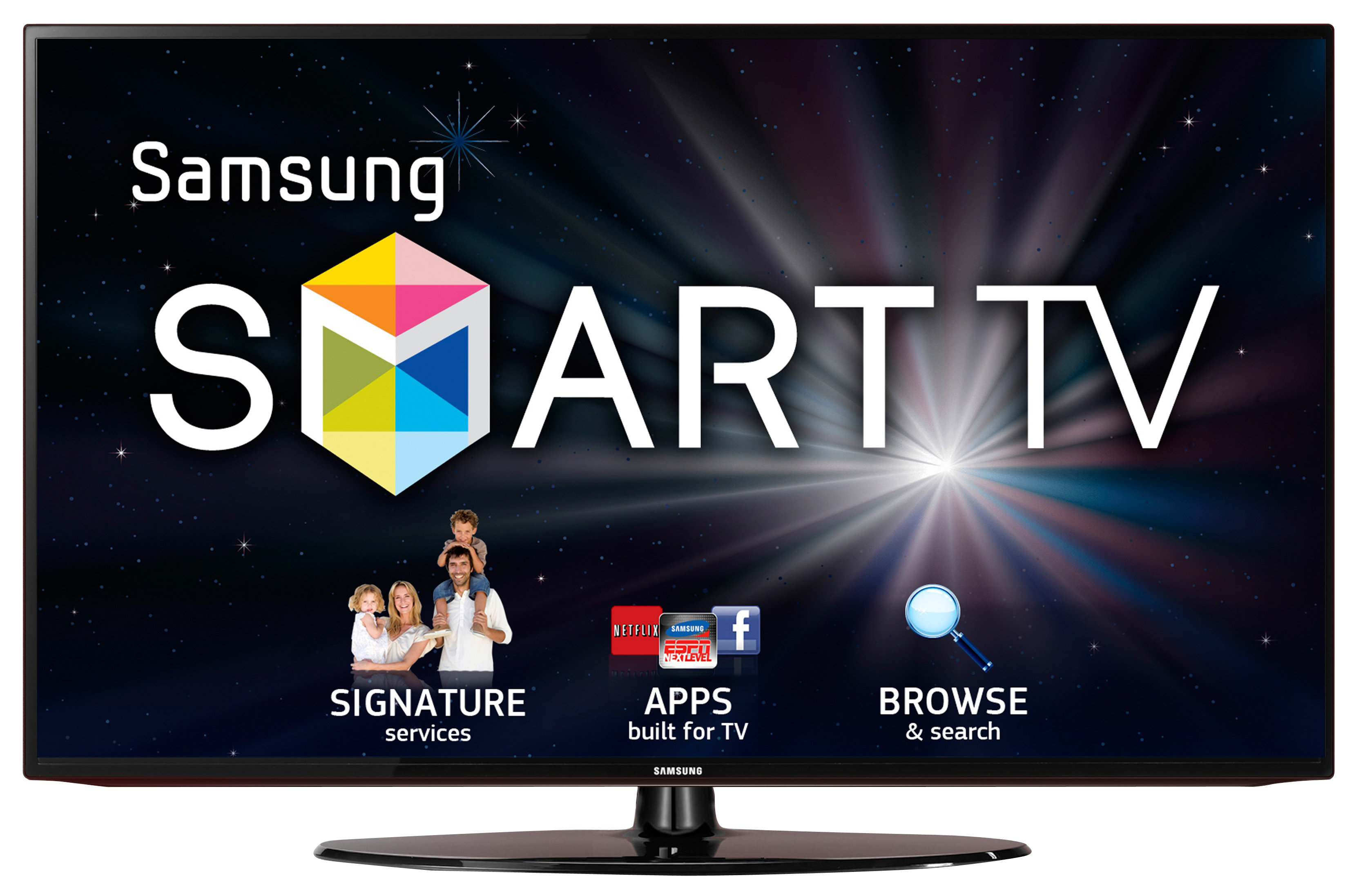 Samsung Un40eh5300f 40 1080p 60hz Led Smart Hd Tv Wifi
