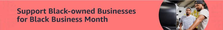 Support Black-owned Businesses for Black Business Month