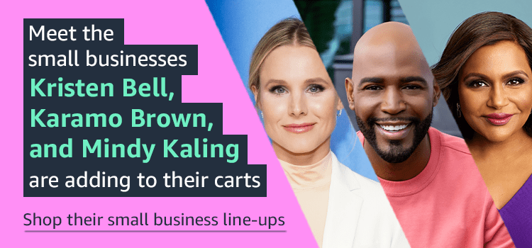 Meet the small businesses Kristen Bell, Karama Brown, and Mindy Kaling are adding to their carts
