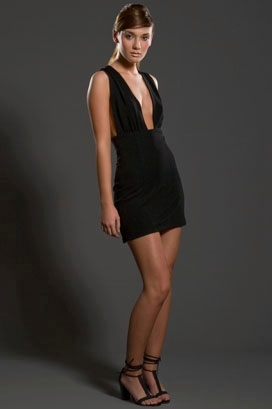 Jenni Kayne Short Cross Back Dress