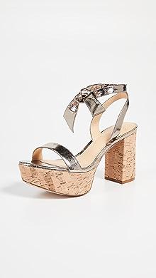d7596e2cf4 Alexandre Birman. Noelle 85mm Platform Sandals