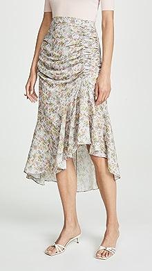 74c75bbfd7 alice + olivia Shannon Pleated Maxi Skirt   SHOPBOP