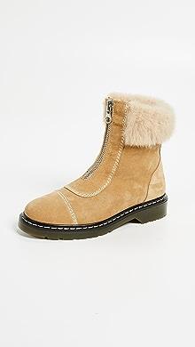 78f3823a1527 Schutz Zumira Lace Up Combat Boots | SHOPBOP