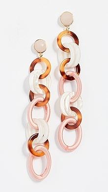 BaubleBar Fabella Linked Drop Resin Earrings dAJh9