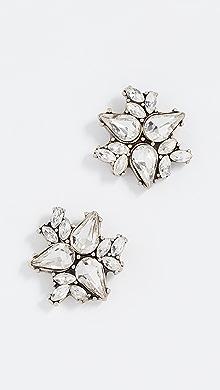 BaubleBar Metal Petals Flower Earrings dK82XBR3ob