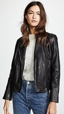 f8ed8d7075ae BB Dakota. Wild Ride Leather Moto Jacket