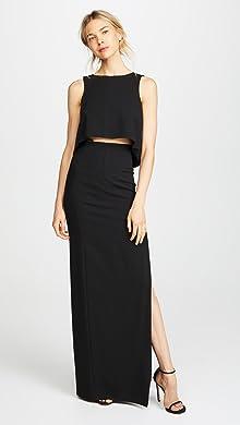 DRESSES - 3/4 length dresses pushBUTTON Z2NwvPvzL