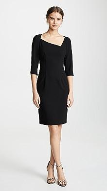 6f19219b01387c Black Halo Jackie O Belted Dress | SHOPBOP