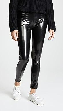 3acb93e35 Commando Faux Patent Leather Perfect Control Leggings
