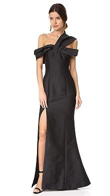 K g black dresses maxi