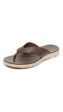 Cole Haan. Zerogrand Thong Sandals