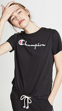 0a71412e Champion Premium Reverse Weave. Classic Script T-Shirt