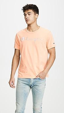 b60eb976 SOLD OUT · Champion Premium Reverse Weave. Large Logo T-Shirt