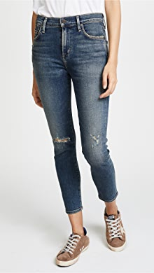 Citizens of Humanity. Rocket Crop Jeans
