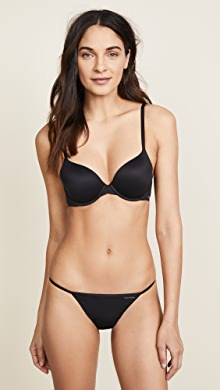 e3c574feb3 Calvin Klein Underwear Everyday Calvin Plunge Push Up Bra