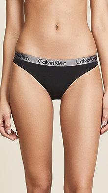 6f0c0f91da Calvin Klein Underwear. Radiant Cotton Thong