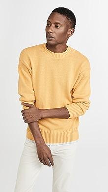 클럽 모나코 Club Monaco Guernsey Sweater,Yellow
