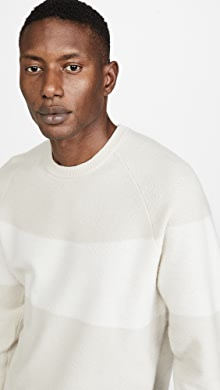 클럽 모나코 Club Monaco Cashmere Sweater,White Multi