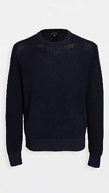 클럽 모나코 Club Monaco Sunset Crew Sweatshirt,Navy
