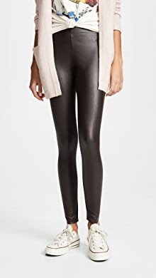 1ebd5027d18327 James Perse High Waist Velvet Leggings | SHOPBOP